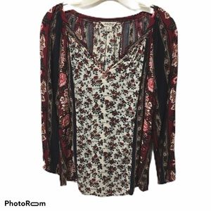 Lucky Brand Tunic Top Size M